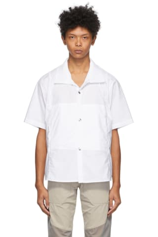 Arnar Mar JOEnsson White Ventile Short Sleeve Shirt