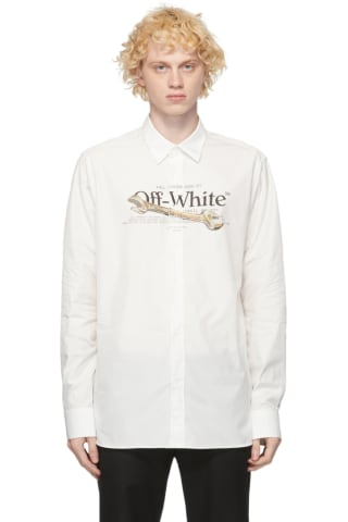 Off-White White Pascal Tool Shirt