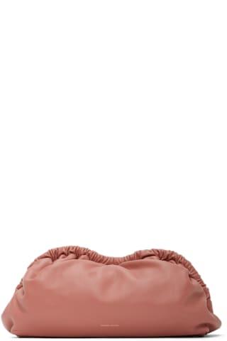 만수르 가브리엘 MANSUR GAVRIEL Pink Cloud Clutch,Blush