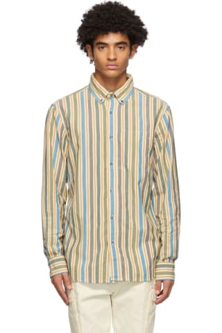 Aime Leon Dore Multicolor Striped Vintage Oxford Shirt