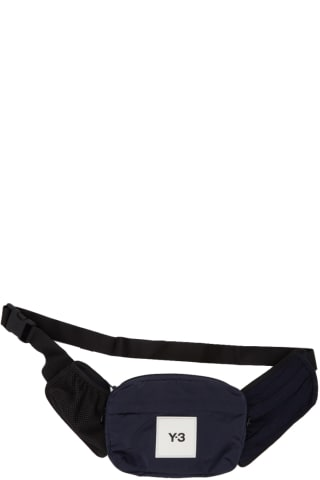 Y-3 Navy Classic Sling Pouch,Legend ink