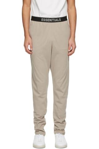 피어오브갓 에센셜 저지 라운지 팬츠 - 베이지 Essentials Beige Jersey Lounge Pants