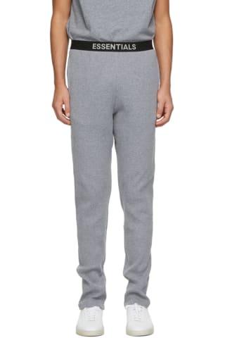 피어오브갓 에센셜 라운지 팬츠 - 그레이 Essentials Grey Thermal Lounge Pants