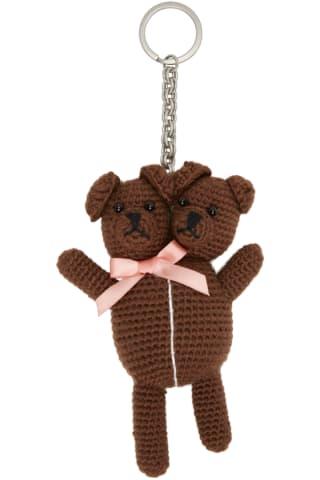 Brown Heaven By 마크 제이콥스 Marc Jacobs Vest Teddy Keychain