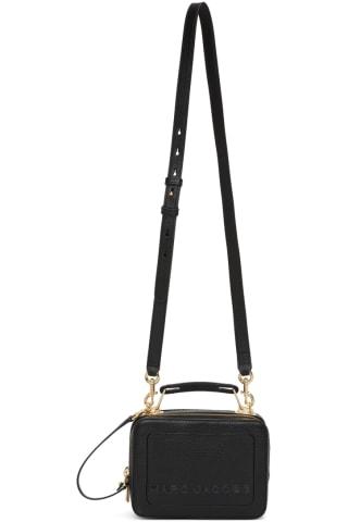 Marc Jacobs Black The Mini Box Bag