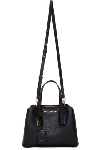 Marc Jacobs Black The Editor Crossbody Bag