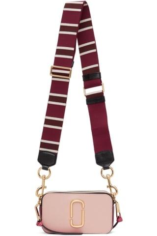 Marc Jacobs Pink & Burgundy The Snapshot Bag