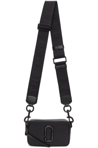Marc Jacobs Black DTM The Snapshot Bag