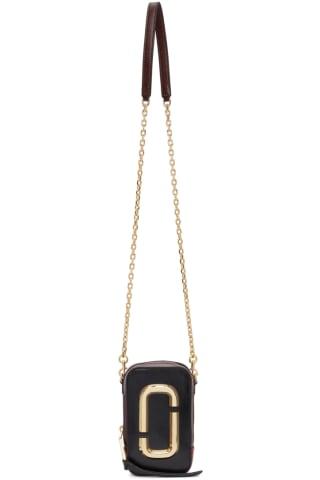 Marc Jacobs Black & Red The Hot Shot Bag