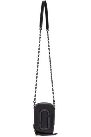 Marc Jacobs Black DTM The Hot Shot Bag