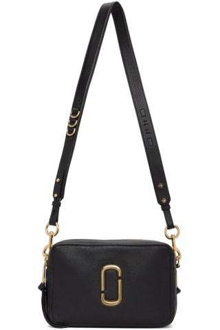 Marc Jacobs Black The Softshot 27 Shoulder Bag
