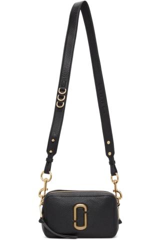 Marc Jacobs Black The Softshot 21 Shoulder Bag
