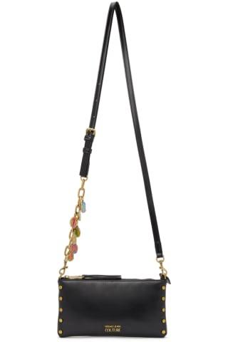 베르사체 Versace Jeans Couture Black Charms Pouch