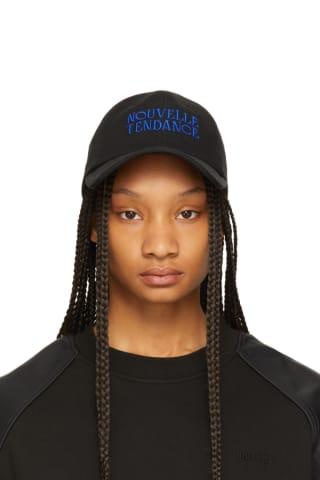 Juun.J Black & Blue Nouvelle Tendance Ball Cap
