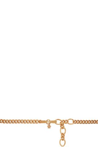 베르사체 Versace Gold Medusa Chain Belt