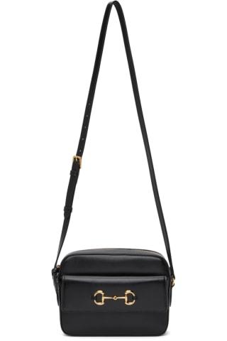Black Small 구찌 Gucci 1955 Horsebit Bag