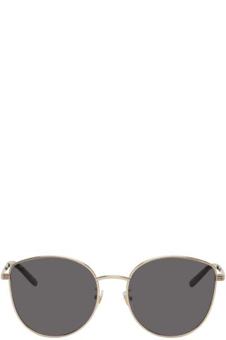 Gucci Gold GG0B07SA Sunglasses