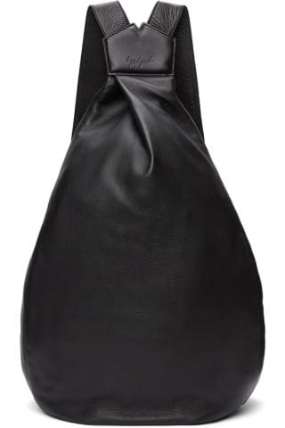 요지 야마모토 백팩 Yohji Yamamoto Black Large discord Y Bag-Pack Backpack