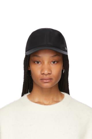 토템 Toteme Black Baseball Cap