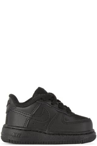 나이키 베이비 아기 운동화 Nike Baby Black Force 1 06 Sneakers,Black