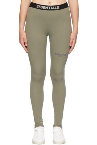 피어오브갓 에센셜 21FW 우먼 레깅스 Essentials Grey Athletic Leggings,Charcoal
