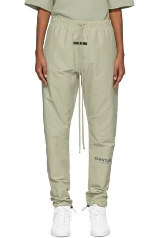 피어오브갓 에센셜 21FW 우먼 트랙 팬츠 Essentials Khaki Track Lounge Pants,Pistachio