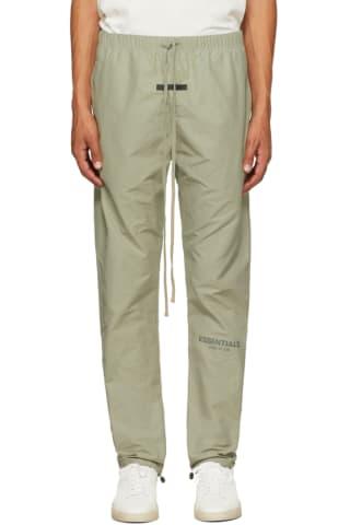 피어오브갓 에센셜 21FW 트랙 팬츠 Essentials Khaki Track Lounge Pants,Pistachio