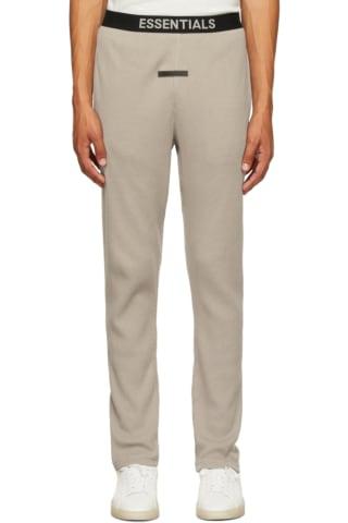피어오브갓 에센셜 21FW 트랙 팬츠 Essentials Tan Thermal Lounge Pants