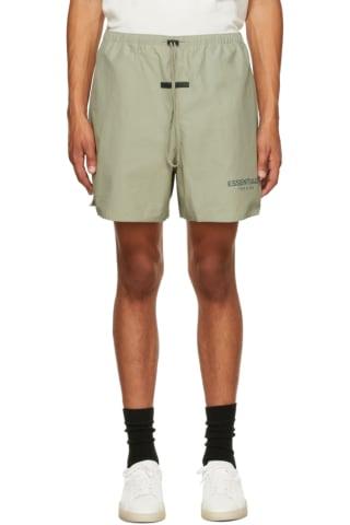 피어오브갓 에센셜 21FW 반바지 Essentials Khaki Volley Shorts,Pistachio