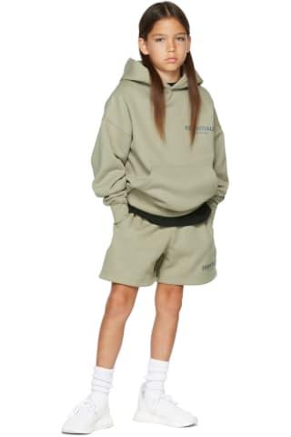 피어오브갓 에센셜 21FW 키즈 후디 Essentials Kids Khaki Fleece Hoodie,Pistachio