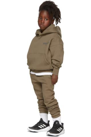 피어오브갓 에센셜 21FW 키즈 후디 Essentials Kids Taupe Fleece Hoodie,Harvest