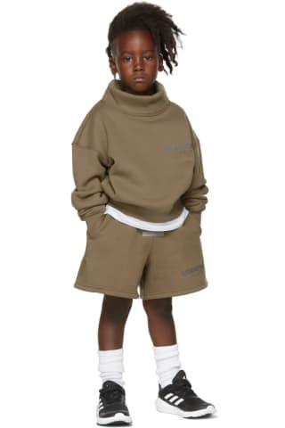 피어오브갓 에센셜 21FW 키즈 스웻셔츠 Essentials Kids Taupe Mock Neck Sweatshirt,Harvest