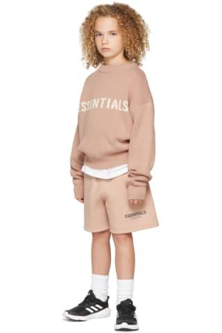 피어오브갓 에센셜 21FW 키즈 스웨터 Essentials Kids Pink Knit Sweater,Matte blush