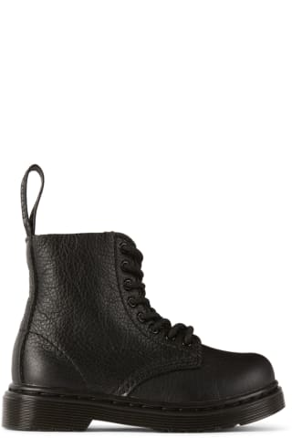 닥터마틴 Dr. Martens Baby Black Virginia 1460 Pascal Boots,Black Dr Martens US Size: child