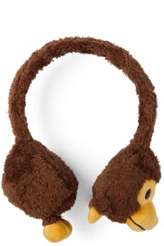 베이프 키즈 귀도리 BAPE Kids Brown Milo Baby Plush Ear Muffs