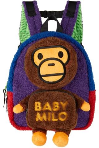 베이프 키즈 백팩 BAPE Kids Multicolor Milo Baby Boa Backpack