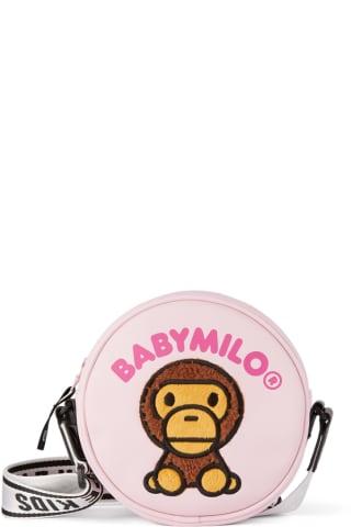베이프 키즈 숄더백 BAPE Kids Pink Milo Baby Shoulder Bag