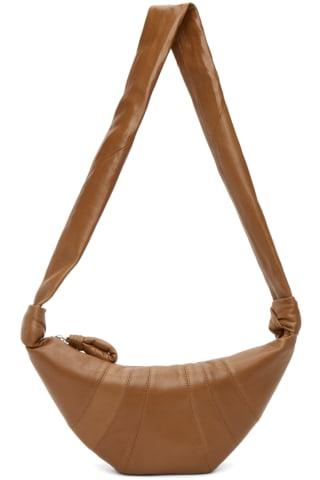 21FW 르메르 크로와상백 스몰 - 샌드 Lemaire Small Croissant Bag,Sand