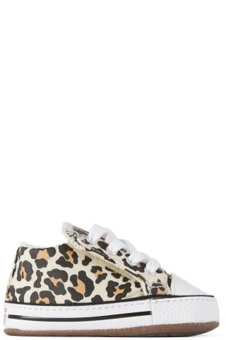 컨버스 아기 운동화Converse Baby Off-White Easy-On Chuck Taylor All Star Cribster Sneakers,Natural ivory/Doe/Black