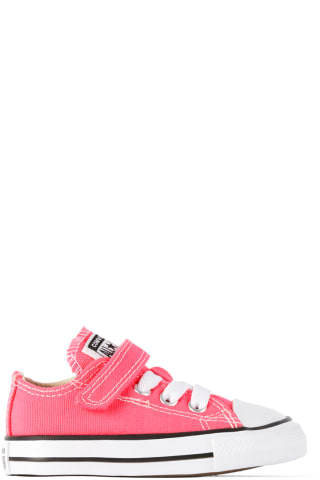 컨버스 아기 운동화 Converse Baby Pink Chuck Taylor All Star Sneakers,Hyper pink