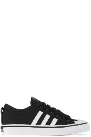 아디다스 키즈 운동화 Adidas Kids Kids Black & White Nizza Sneakers,Core black/Cloud white/Cloud white