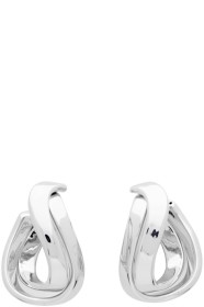 Silver Twirl Earrings by Balenciaga, available on ssense.com for $495 Kylie Jenner Jewellery SIMILAR PRODUCT