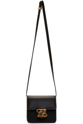 Black Small Karligraphy Bag Fendi