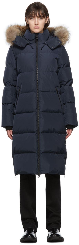 MACKAGE Navy Down Wynter Coat