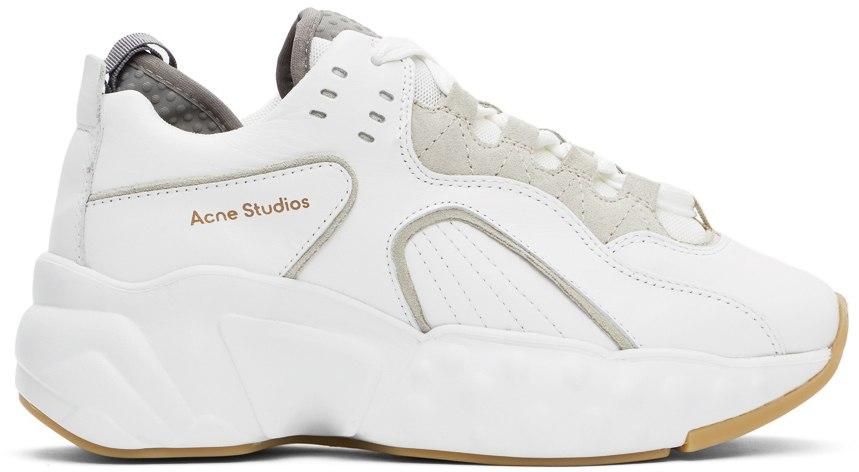 【ACNE STUDIOS】ホワイト Manhattan スニーカー