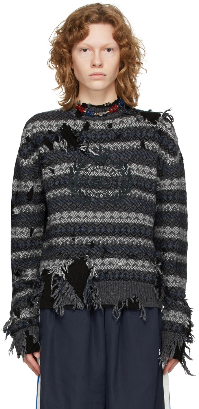https://img.ssensemedia.com/images/b_white,g_center,f_auto,q_auto:best/212342F096001_1/balenciaga-grey-destroyed-fair-isle-sweater.jpg
