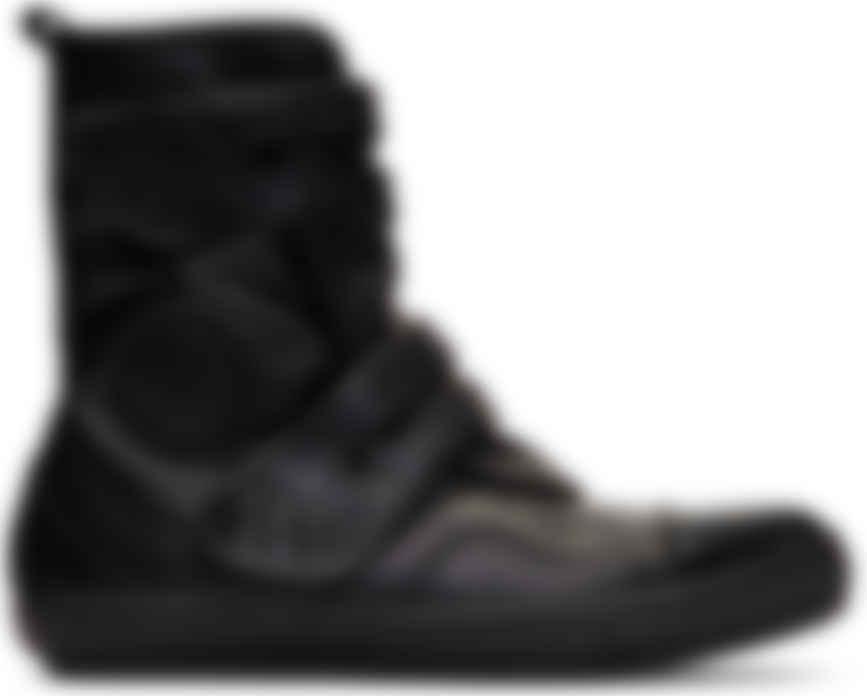 Diesel Black Gold: Black Leather High