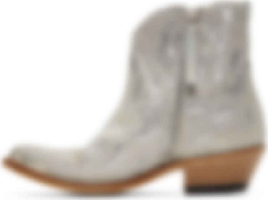Silver Glitter Young Boots by Golden