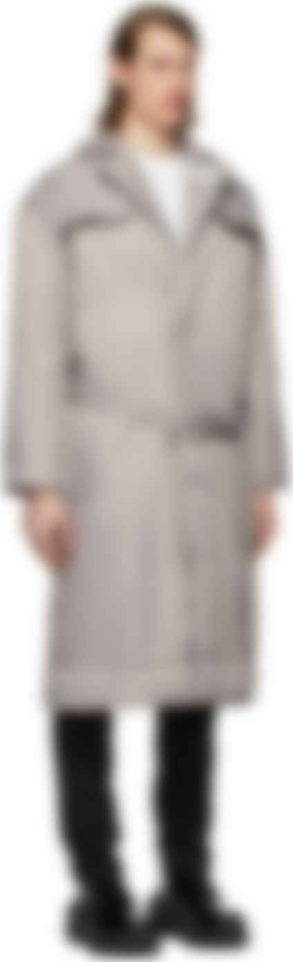 Grey Cosmic Workshop Coat