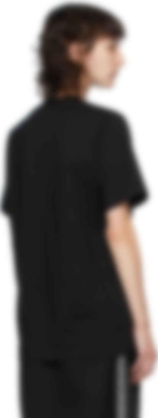 mcq alexander mcqueen black mcq swallow logo t shirt ssense canada ssense